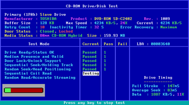 Any Sd Cd Drive Is Supported Including The Industry S Cur Fastest Drives Test Interrogates Rom Directly Without Requiring Loading